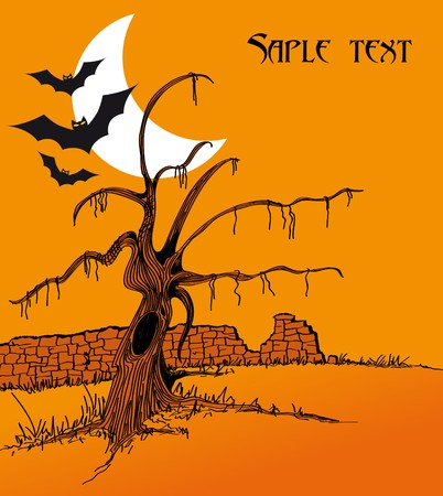 halloween poster Stock Vector - 7995825