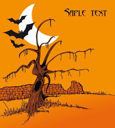halloween poster Stock Vector - 7995825