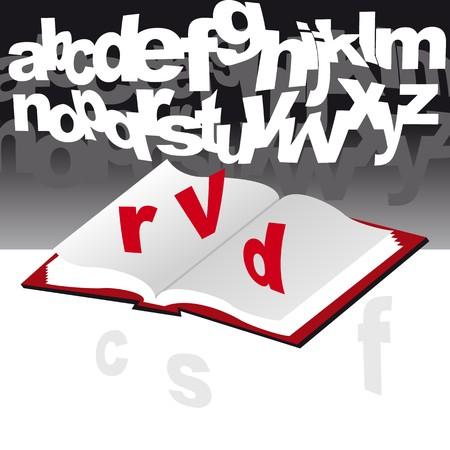 open book Stock Vector - 7995828