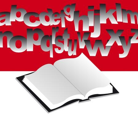 open book Stock Vector - 7995827