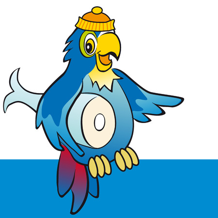 Fisher parrot Vector