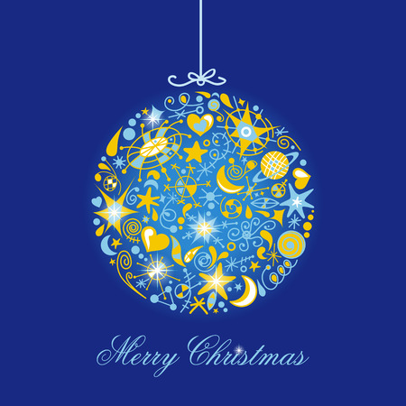 christmas card Stock Vector - 8239851