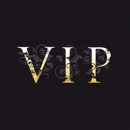 vip symbol: tarjeta VIP