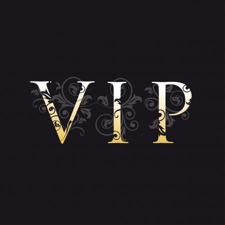 celebrities: VIP kaart  Stock Illustratie