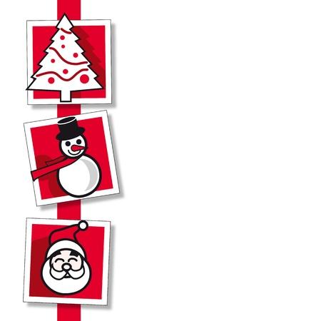 Christmas card Stock Vector - 8334826