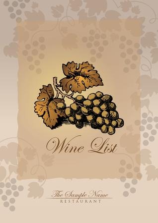 sommelier: lista de vinos