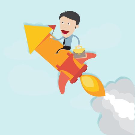 booster: Rocket arranque a la meta