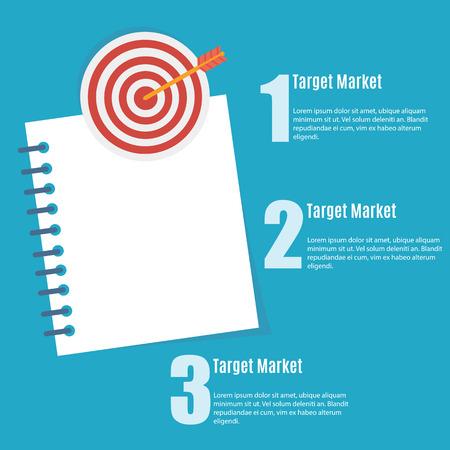 Businessman target Vector