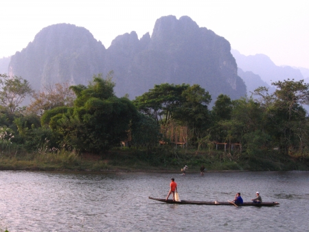 Lao villagers living Stock Photo - 17266147