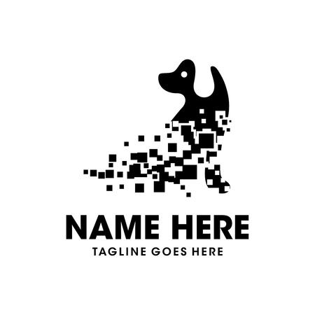technology dog logo design your company