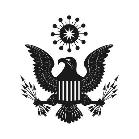 eagle bird concept logo your company