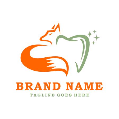 logo fox dental your company