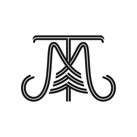 the initials MT logo your company