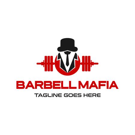 barbell mafia logo tu empresa