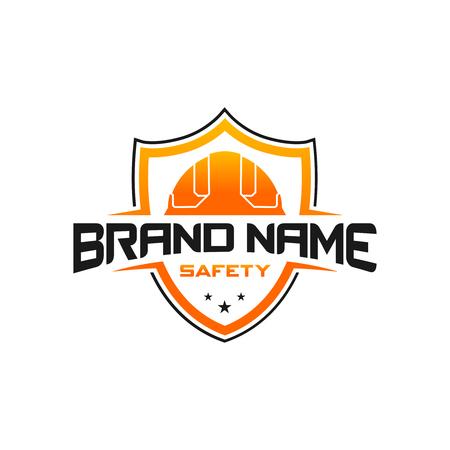 construction shield logo your company