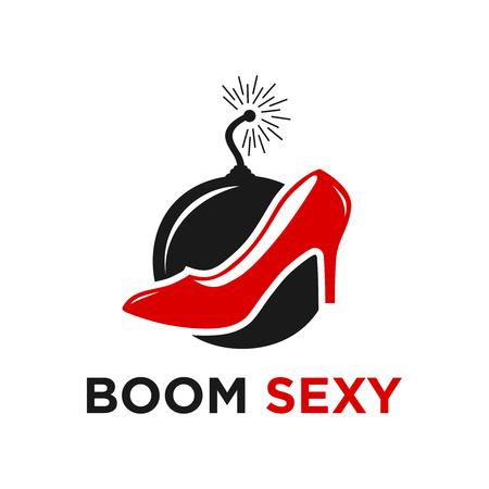 boom sexy logo four your company