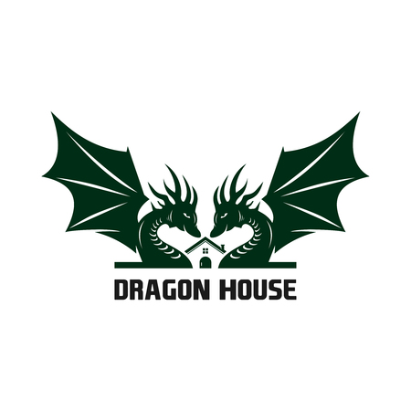 the logo of the dragon house your company