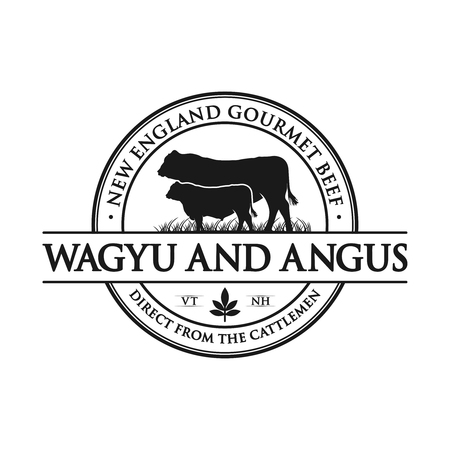 vintage angus cattle logo your company