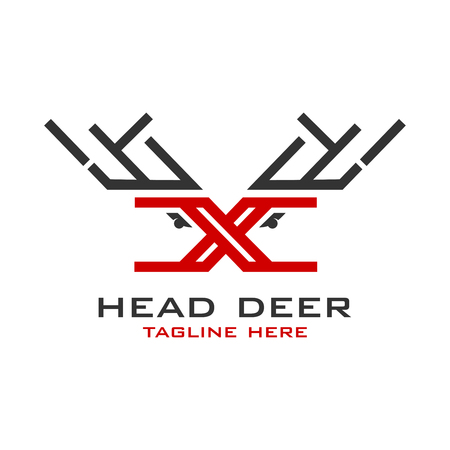 the initial logo of X deer your company