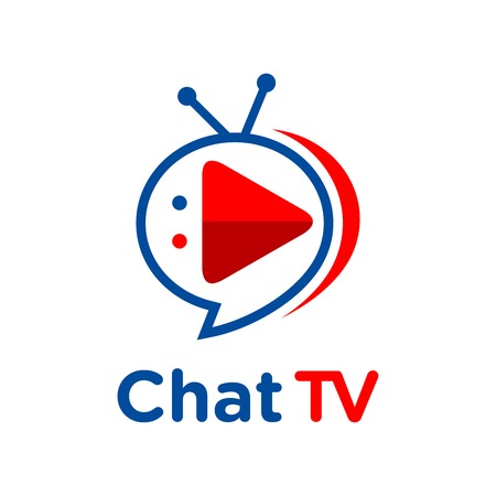 logo chat tv your company