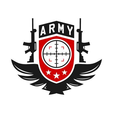 logo broni armii twojej firmy Logo