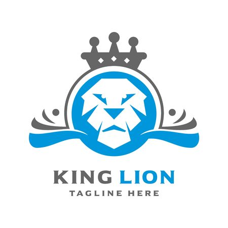 lion kings logo your company