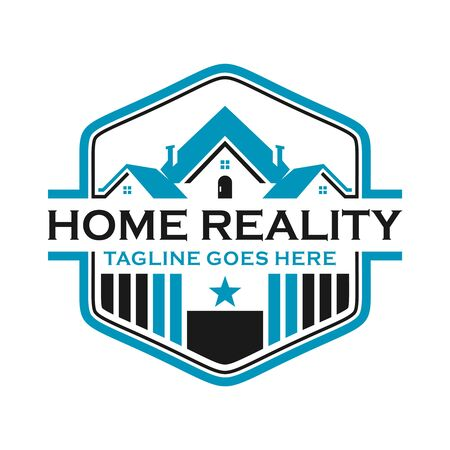 home emblem logo your company Stock Illustratie