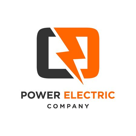 electric logo initials O your company