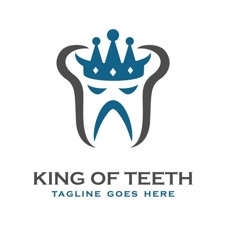 king tooth logo your company