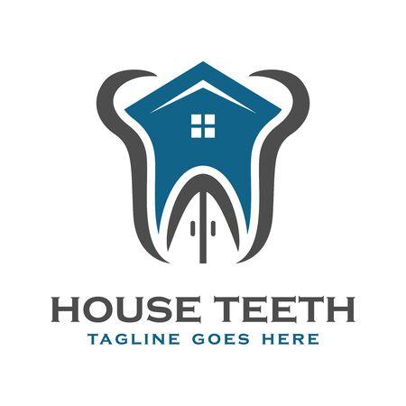 dental health logo your company Illustration