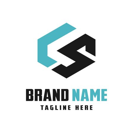 business logo design letters LS your company