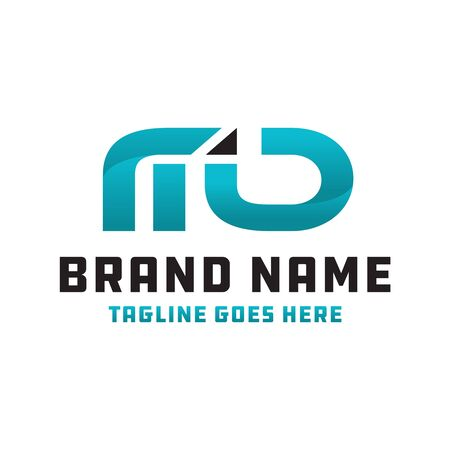 MD logo business logo design Logo