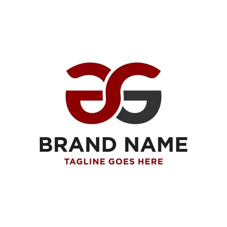design a business logo with the letter AG