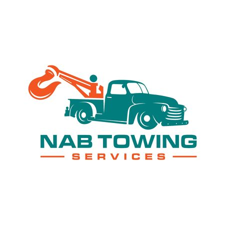 logo design of tow truck services your company