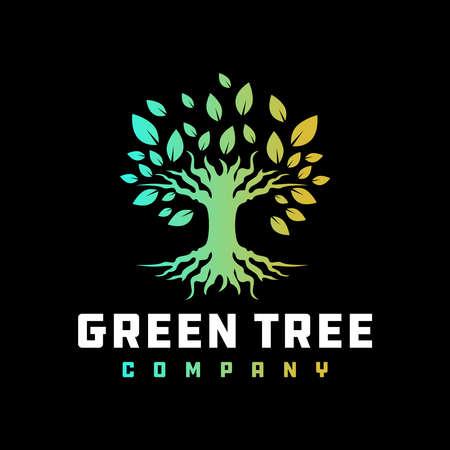 tree root logo design your company