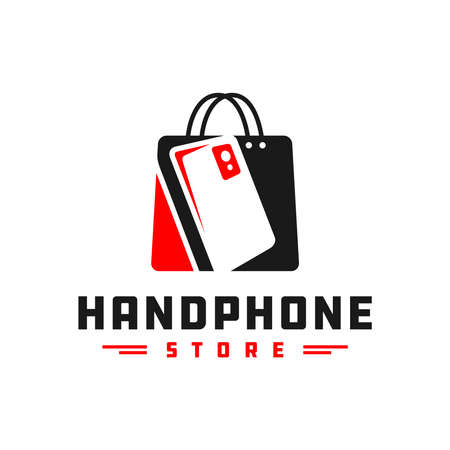 mobile phone shop logo design