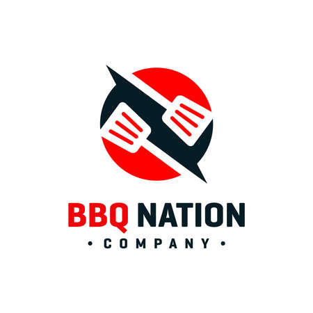 BBQ cooker logo design your company