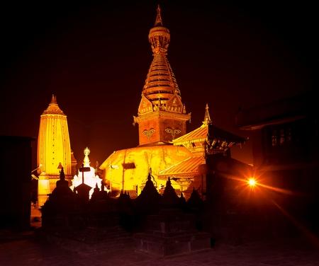 tibetian: Swayambhunath Stupa,Kathmandu,Nepal.