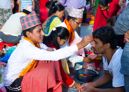 Hindus in Nepal and elsewhere were celebrated Janai Purnima on Friday.On this day, men from Hindu faith changed their Janai, the sacred thread, apart from performing rituals in temples. People also received Rakshya Bandhan (thread) from the Brahmin priest