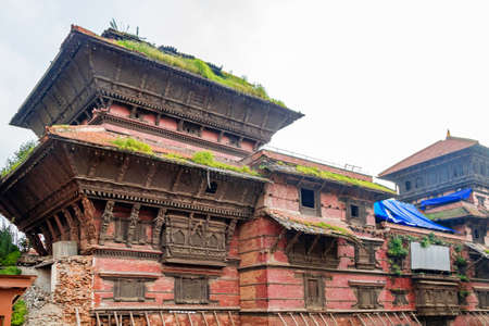 Basantapur Durbar Square of Kathmandu under renovation after Gorkha Earthquake