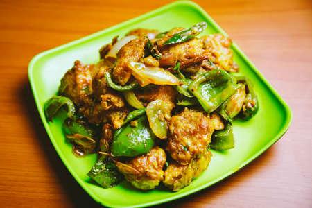 Spicy Chilli Chicken Recipe in Nepali Style.