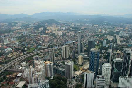 Beautiful Scenery of Kuala Lumpur, Malaysia photo