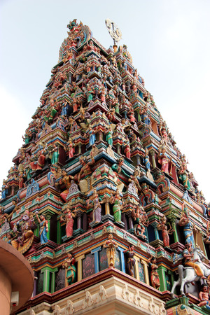 Sri Mahamariamman Temple, the oldest and richest Hindu temple in Kuala Lumpur, Malaysia photo