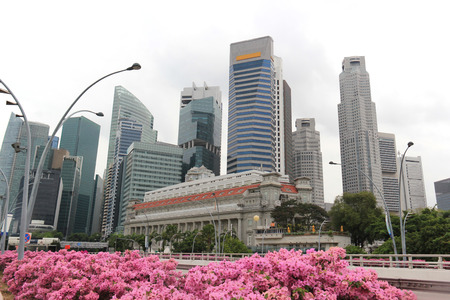 Singapore Business and Financial District photo