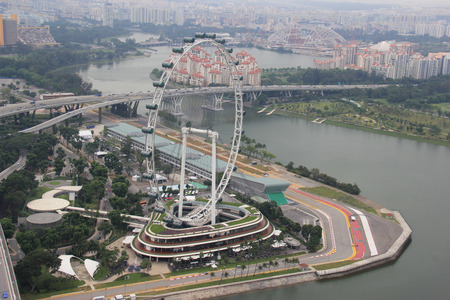 Singapore Flyer, one of the world