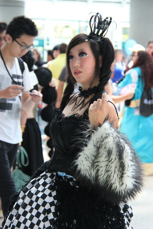 identified: Cosplay or Custume Play, a performance art in which participants called cosplayers wear costumes and fashion accessories to represent a specific character or idea that is usually identified with a unique name.