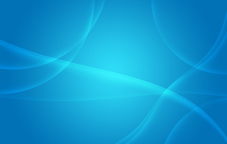 Smooth Twist Light Lines on Blue Background Stock Photo