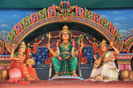 mariamman: The Sri Mariamman Temple, Singapore Editorial
