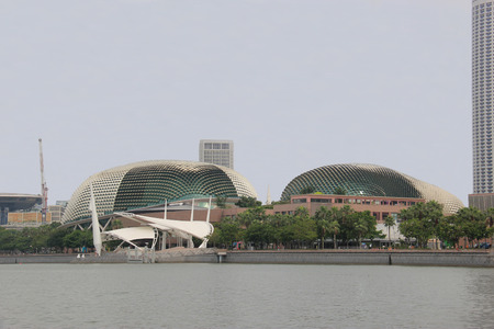 Singapore - April 7, 2013: Esplanade or Theatres on the Bay, Singapore