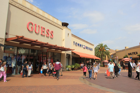 Los Angeles, California, USA - May 22, 2015: Citadel Outlets is Southern California Redakční